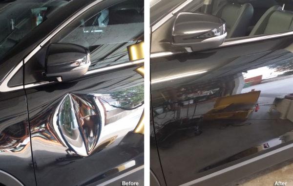 Mazda CX9 – Door Dent