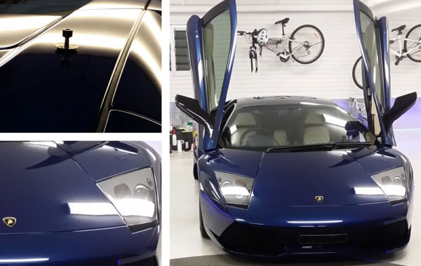 Lamborghini Murcielago – Roof Dent Removal and Custom Detailing